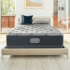 "Simmons Beautyrest Landings Point 12"" Firm Pillow Top Innerspring Mattress Size: California King"
