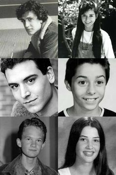 When characters of himym series were young! Series Movies, Tv Series, Ted And Robin, Cbs Tv Shows, How Met Your Mother, Ted Mosby, Netflix, Himym, American Series