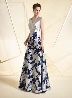 A1821 (Vestido de Fiesta). Diseñador: Ángela Ariza. ...