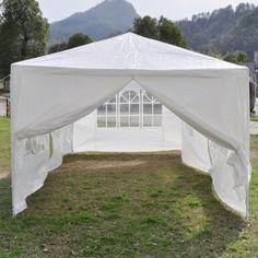 Amazon.com : Polar Aurora 10'x20 3color 6 Walls Outdoor Canopy Party Wedding Tent Heavy Duty Gazebo (White) : Patio, Lawn & Garden