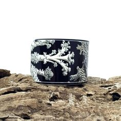 Marine Jewellery  Ernst Haeckel  Aluminum Cuff by JDzigner on Etsy