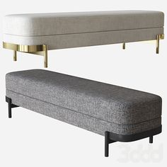 Bench Furniture, Modern Furniture, Furniture Design, Sofa Chair, Couch, Soft Seating, Ottoman Bench, Modern Materials, Furniture Collection