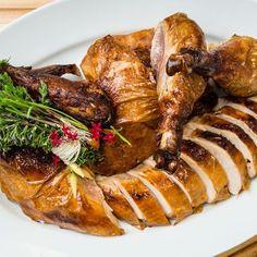 My Favorite Roast Turkey (24 hr brine, 24 hr drying in fridge, high heat roast/ French method)