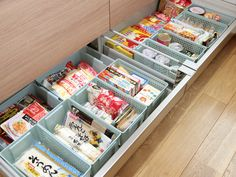 Larder Cupboard, Kitchen Cupboard Doors, Kitchen Pantry, Kitchen Organization, Organization Hacks, Diy Bedroom Decor, Diy Home Decor, Home Coffee Stations, Love Home