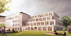 Ederer + Haghirian Architekten / Wettbewerb BG/BRG Mödling