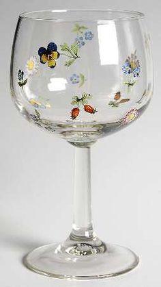 Villeroy & Boch Petite Fleur 10 Oz Glassware Wine