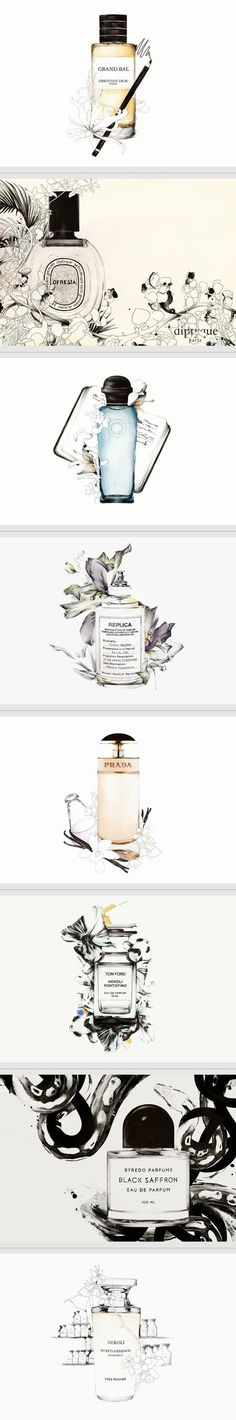 Scent Stories by Spiros Halaris | Illustration & #packaging is team fav #2013 #toppin PD: