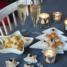 #appetizers #champagne | Dille & Kamille