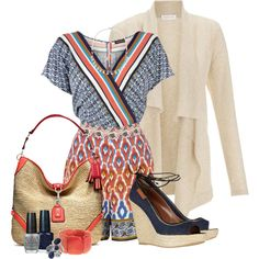 """""""Warm Days, Cool Nights...casual & colourful"""" by livewithgrace"""