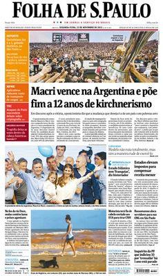 OBScena: operação de guerra de um lado, operação esconde-esconde no outro. A capa da Folha de São Paulo de hoje, 25/11/2015, faz-me lembrar do Poema em linha reta do Fernando Pessoa. Chega a ser en...