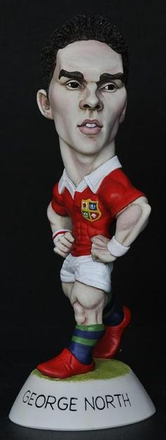 """9"""" 2013 Lions George North *6-8 week delay* from The Grogg Shop"""