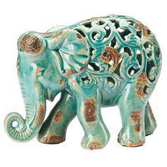Elephant Table Décor