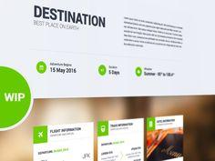 Destination - WIP