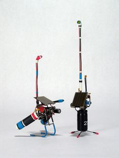 how to make a walking robot with moving arms