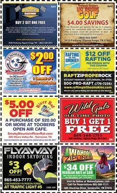 Discount Coupons for the Smoky Mountains - Pigeon Forge Discounts - Gatlinburg Discount Coupons Pigeon Forge Tennessee, Gatlinburg Tennessee, Tennessee Vacation, Gatlinburg Coupons, Alaska Travel, Alaska Cruise, Mountain Vacations, Viewing Wildlife, Grand Teton National