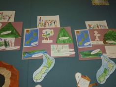 We wrote our mihi and labelled our mountain, river and family in Maori.