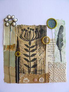Print, paper, and stitch
