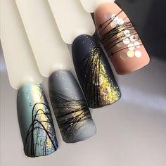 Nail Art Designs Videos, Gel Nail Designs, Nail Art Hacks, Gel Nail Art, Nail Drawing, Happy Nails, Latest Nail Art, Funky Nails, Minimalist Nails