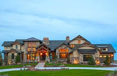 Grand Mountain Lodge - 95029RW | Architectural Designs - House Plans