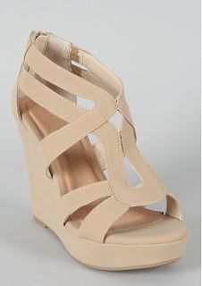 $18, Nude Wedges
