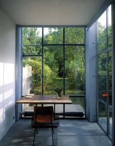 Calm, Quiet. Residence located in Orsay, France, by Eva Samuel Architecte et Associes.