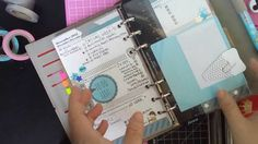 DIY - Clear Filofax Folder/ Envelope