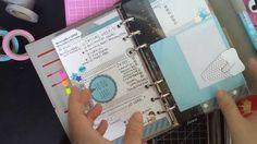 DIY - Clear Filofax Folder/ Envelope