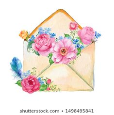 Find Valentines Day Card Flowers Watercolor Bouquet stock images in HD and millions of other royalty-free stock photos, illustrations and vectors in the Shutterstock collection. Thousands of new, high-quality pictures added every day. Watercolor Flowers, Watercolor Paintings, Watercolour, Felt Crafts, Paper Crafts, Cute Cartoon Wallpapers, Scrapbook Stickers, Flower Power, Bouquet
