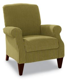 This recliner is fit for royalty. And not simply because of its name. With beautifully tapered legs, sophisticated curves and classic style, Charlotte has her own following of loyal admirers.