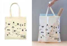 Bag TORMIAR. Festiwal of Architecture and Design Visual Identity by Karolina Ryfka