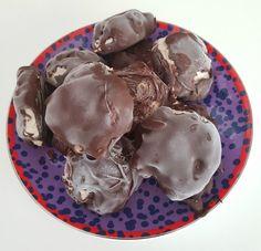 Frozen Snickers Mousse Bites