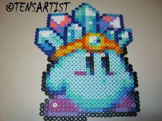 Kirby #hamabeads #pixelart #tensartist