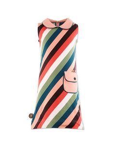 Multicoloured 'again and again' dress - 4 funky flavours