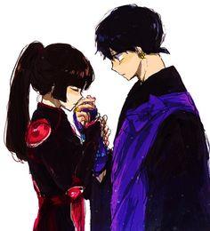 Sango + Miroku