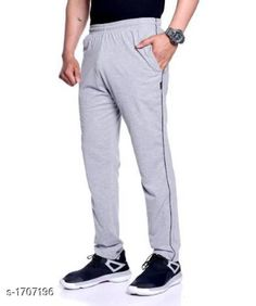 Checkout this latest Track Pants Product Name: *Zeffit Comfy Cotton Men's Track Pant* Fabric: Cotton  Size: L - 32 in XL - 34 in XXL - 36 in Length: Up To 40 in Type: Stitched Description: It Has 1 Piece Of Men's Track Pant Pattern: Solid Country of Origin: India Easy Returns Available In Case Of Any Issue   Catalog Rating: ★4 (7357)  Catalog Name: Zeffit Stylo Comfy Cotton Mens Track Pants Vol 3 CatalogID_223193 C69-SC1214 Code: 563-1707196-747