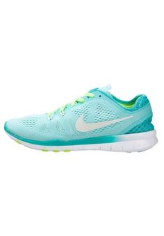 FREE 5.0 TR FIT 5 BREATHE - Trainings- / Fitnessschuh - aritsan teal/white/light retro/volt