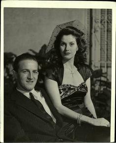 Alina Johnson de Menocal e Luis García-Menocal Nadal, 1945