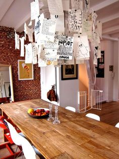 Casinha colorida: Salas de Jantar espirituosas