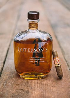 We match up some great cigars with the perfect bourbon pairing. Including Medley's Private Stock 10 Year, Blanton's, Jefferson's Very Small Batch, Noah's Mill, and Woodford Reserve Double Oaked. Good Whiskey, Cigars And Whiskey, Good Cigars, Scotch Whiskey, Whiskey Bottle, Cigar Bar, Cigar Club, Sweet Notes, Wine