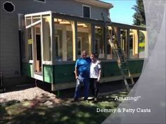 60 ton crane picks up and installs a lb. Brady Built Sunroom in Beverly, MA Sunrooms, Home Remodeling, Building, Decor, Sunroom, Decoration, Decorating, Conservatory, Buildings