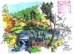 Urban Sketchers: 3 weeks in Japan: Part 3 - Kyoto