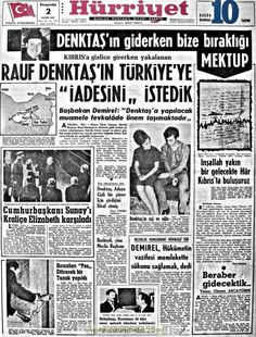 Hürriyet gazetesi 2 kasım 1967