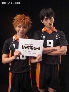 hinata is smol bean Daichi Sawamura, Nishinoya, Kageyama Tobio, Kagehina, Hinata, Captive Prince, Stage Play, Haikyuu Characters, Karasuno