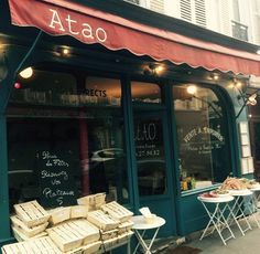 Atao: 86 Rue Lemercier, 75017 |  in the Batignolles neighborhood in the 17th arrondissement, and it's one of the best fish restaurants in Paris