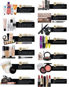 Maquiagem em 13 passos