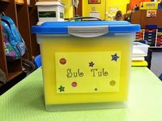 Sub tub - this looks like a fantastic idea.  I have a sub folder, but this is more organized!