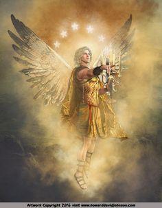 Si SIENTES a Dios, no es necesario creer en Él. Ángel Art.  New Pictures of Angels by Howard David Johnson