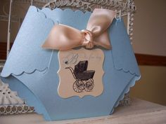 It's A BoyDiaper Die Cut Baby Shower by BeautifullyInviting, $2.50