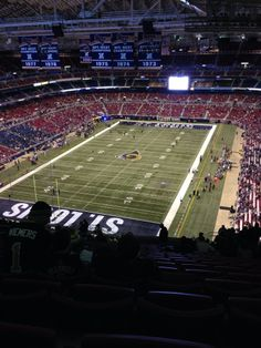 Home of the St. Louis Rams!