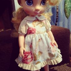Disney Animators Doll Dress finished :) doll clothes